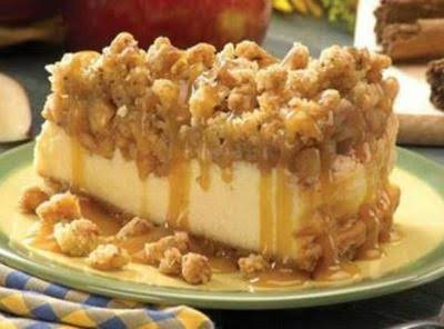 Apple Crisp Cheesecake Recipe