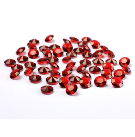 Dekorationsdiamanter - Mörkröd