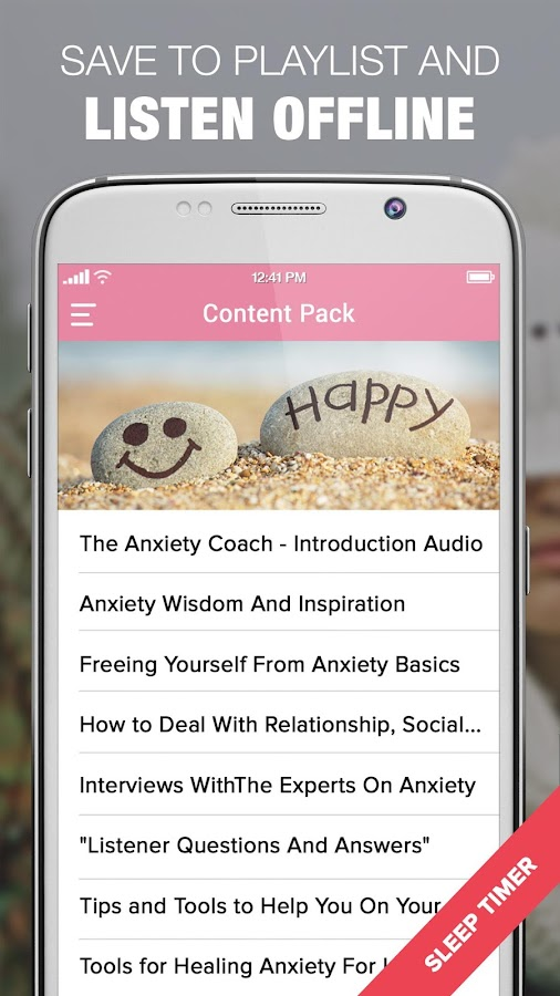 Anxiety Coaches Podcasts & Workshops by Gina Ryan- screenshot