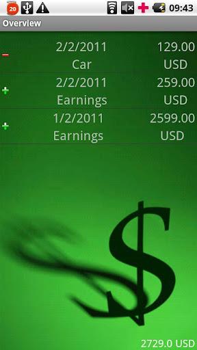 MoneyManager screenshot 4