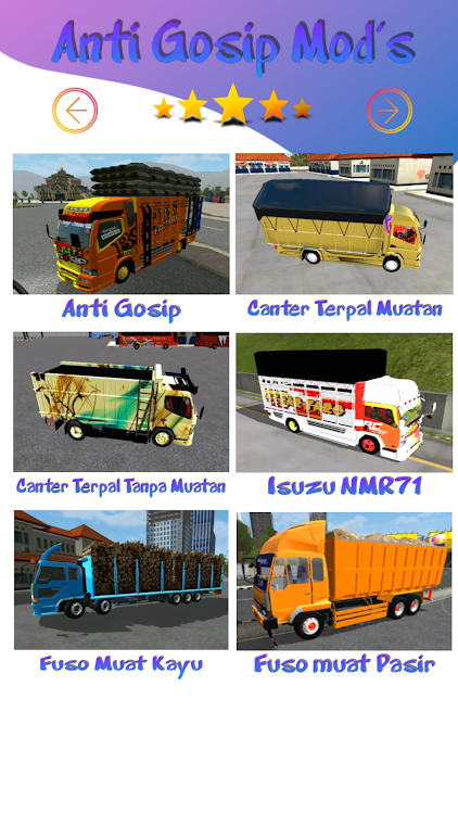 Mod Truck Canter Anti Gosip Bussid Android Apps Appagg