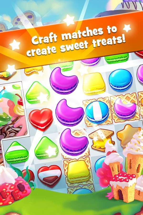 Screenshots of Cookie Jam for iPhone