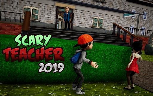 Crazy Scary Evil Teacher 3D - Spooky Game 1.1 screenshots 2