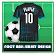 Football Jersey Maker : Football T-Shirt Design Download on Windows