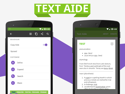 Text Aide screenshot