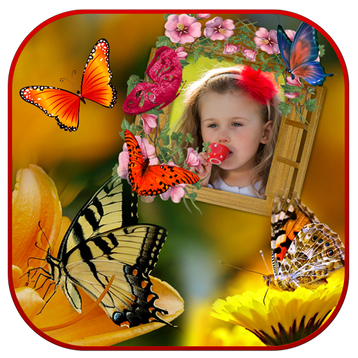 Butterfly Photo Frames 遊戲 App LOGO-APP開箱王