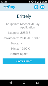 mePay screenshot 2
