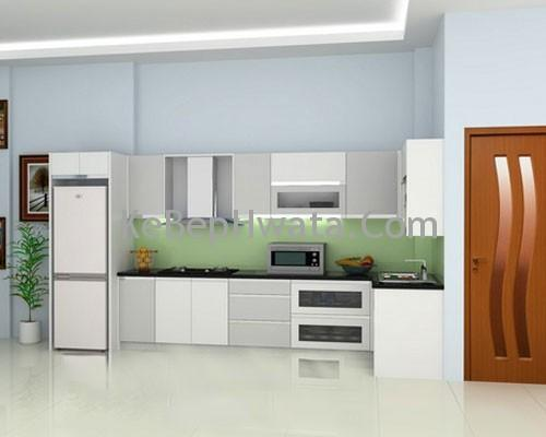 Tủ bếp Inox Acrylic đẹp
