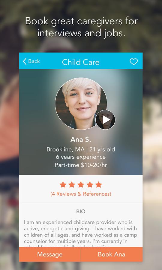 Care.com- screenshot