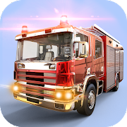 City Firefighter Truck Driving Rescue Simulator 3D