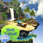 Tropical del tema GO SMS Pro icon