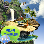 Tropical Theme GO SMS Pro