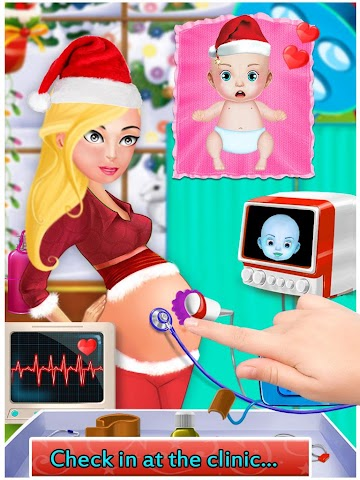 android My New Baby Santa Screenshot 9