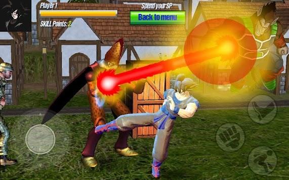 Raging Sayian Super Z:  Goku Legends Tournament apk screenshot