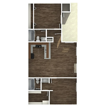 Go to Two Bedroom A Floorplan page.
