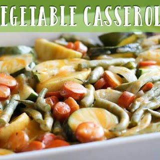 Super Easy and Delicious Vegetable Casserole