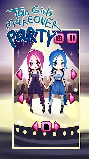 双子ガールイメチェンパーティー