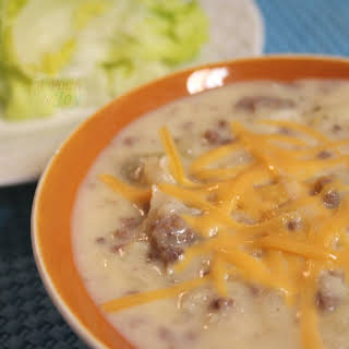 Cheeseburger Soup With Hash Browns Recipes.