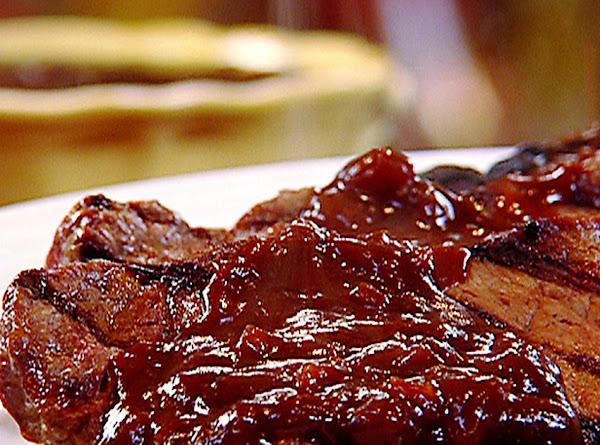 New York Strip Steak And Molasses Steak Sauce Recipe
