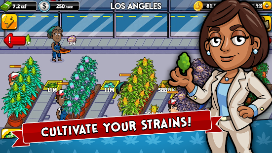 Weed Inc: Idle Tycoon Screenshot