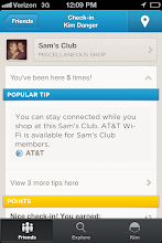 Photo: Did you know that Sam's Club has WiFi? I didn't!