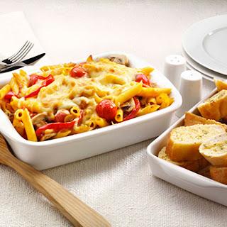 Pasta, Cheese & Vegetable Bake Recipe