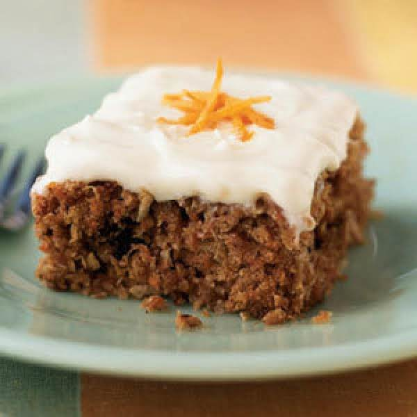 Mum's Baby Food Carrot Cake Recipe