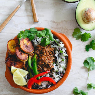Mexican Shredded Beef Bowls.