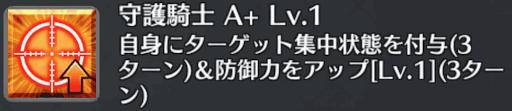 守護騎士[A+]