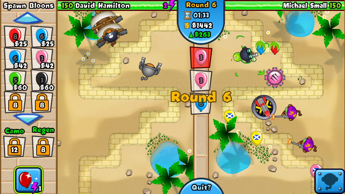 #5. Bloons TD Battles (Android)