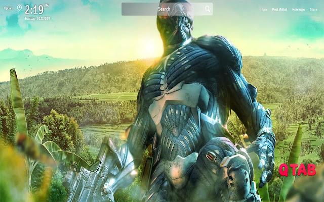 Crysis Game Wallpapers Crysis Game Tab
