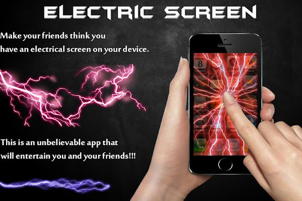 Electric Thunder Screen Prank - screenshot