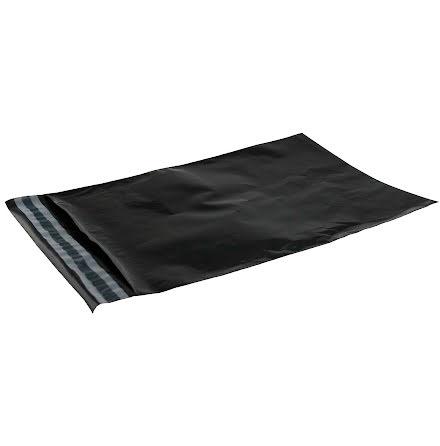 Postpåse  230x325 svart 100/fp