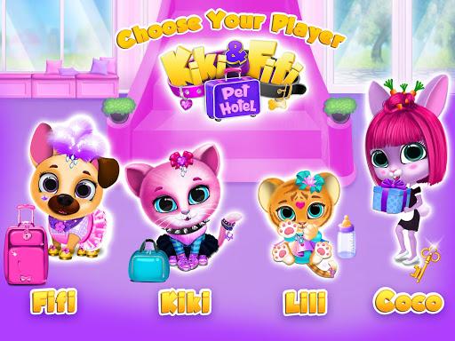Kiki & Fifi Pet Hotelu2013 My Virtual Animal House 1.0.45 screenshots 11