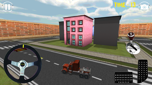 真正的卡车停车场模拟器