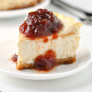 The Best Ever Easy Skinny Cheesecake.