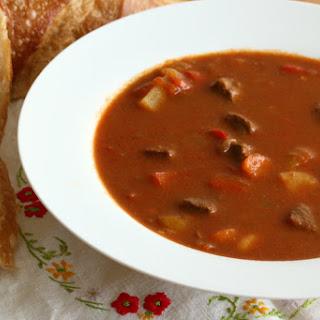 Traditional Hungarian Goulash (Gulyas)