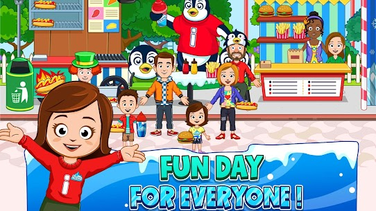 My Town : ICEME Amusement Park Free (Unlimited Money) 7