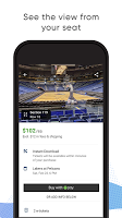 screenshot of SeatGeek – Tickets to Sports, Concerts, Broadway