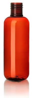 PET-flaska brun - 250 ml