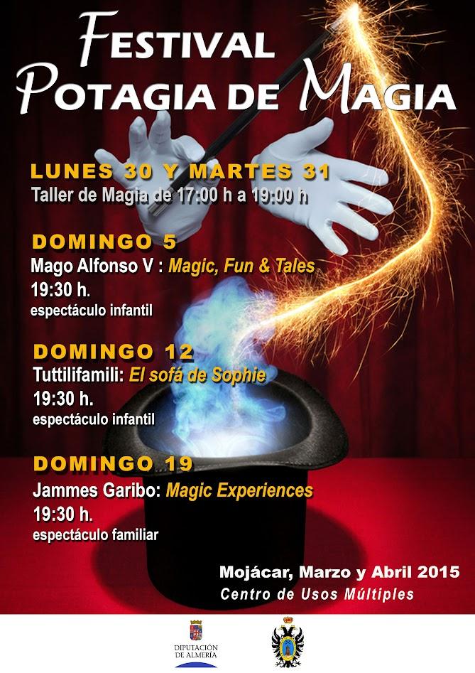 Cartel Festival Potagia de Magia Mojácar