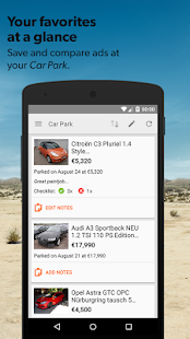 mobile.de – vehicle market- screenshot thumbnail