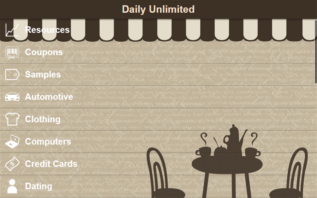 Daily Unlimited- screenshot