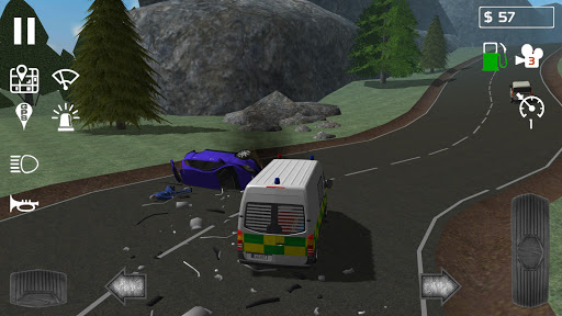 Emergency Ambulance Simulator 1.0.4 Cheat screenshots 4
