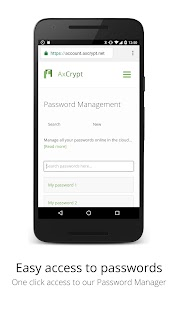AxCrypt- screenshot thumbnail