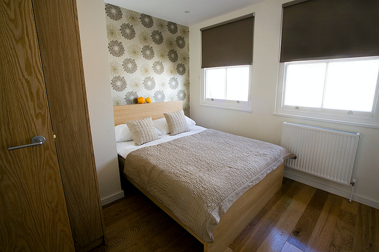 Bedroom at Notting Hill apartment