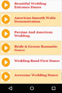 American Wedding Dance Songs And Music Screenshot Thumbnail