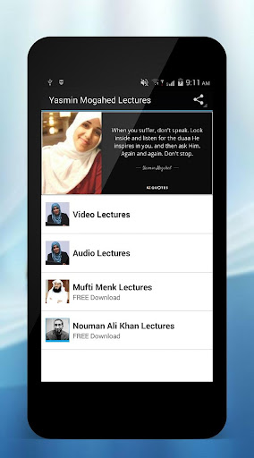 Download Yasmin Mogahed Lectures Google Play softwares