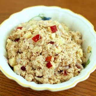 Apple Cranberry Tuna Salad.