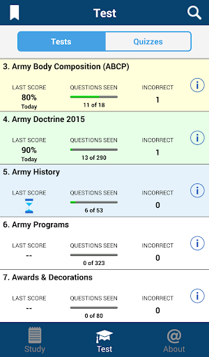 Screenshot for PROmote - Army Study Guide in Hong Kong Play Store
